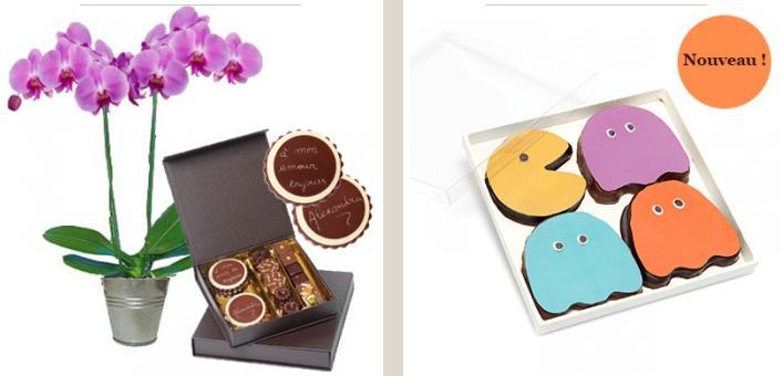 Le plaisir d'offrir du chocolat